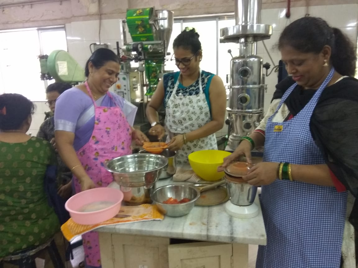 Course on fruit &vegetable processing for self help groups in collaboration with CDTP
